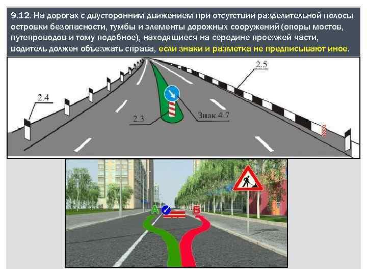 Дорога с двусторонним движением картинки