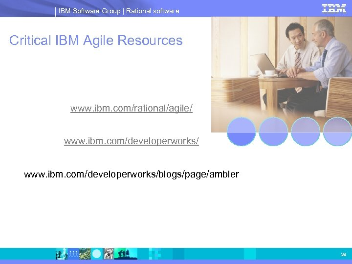 IBM Software Group | Rational software Critical IBM Agile Resources www. ibm. com/rational/agile/ www.