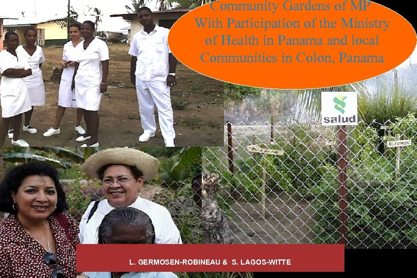 Community Gardens of MP With Participation of the Ministry of Health in Panama and
