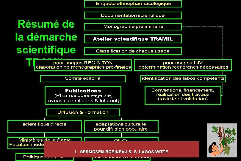 Résumé de la démarche scientifique TRAMIL L. GERMOSEN-ROBINEAU & S. LAGOS-WITTE