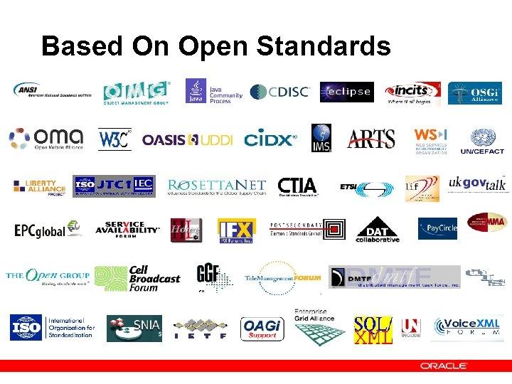 Based On Open Standards