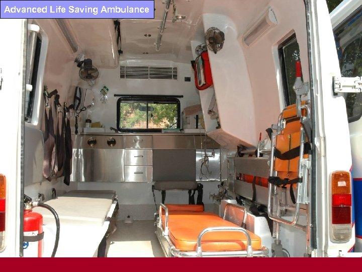 Advanced Life Saving Ambulance