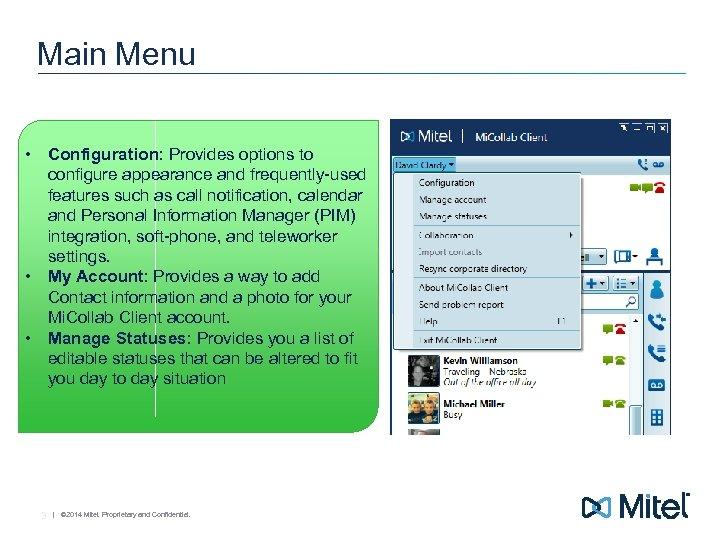 Mi Collab 7 0 Desktop Client End User