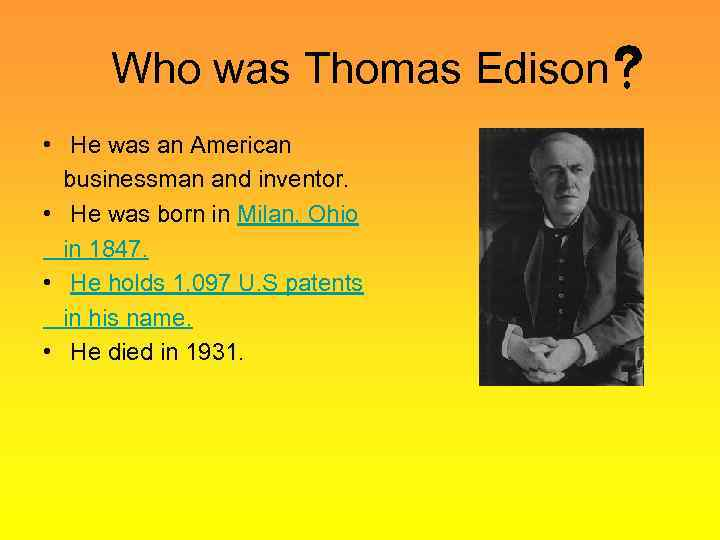 an analysis of young thomas edison by sterling north A new movement in american higher education aims to transform the teaching of civics this report is a study of what that movement is, where it came from, and why americans should be concerned.