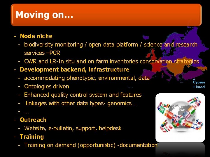 - Node niche - biodiversity monitoring / open data platform / science and research