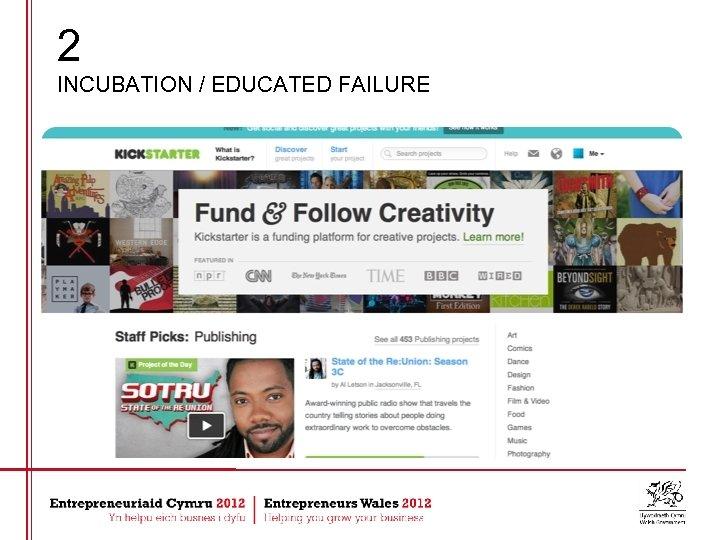 2 INCUBATION / EDUCATED FAILURE