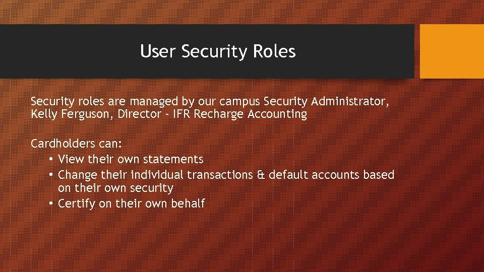 the role of security in a campus Role of video analytics and security on campus and in hospitals posted 12/08/2017 by ken bukowski the following is an excerpt from an article which first appeared in the august 2017 issue of campus safety magazine.