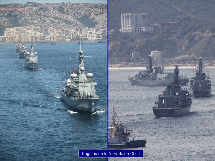 fragatas de la Armada de Chile