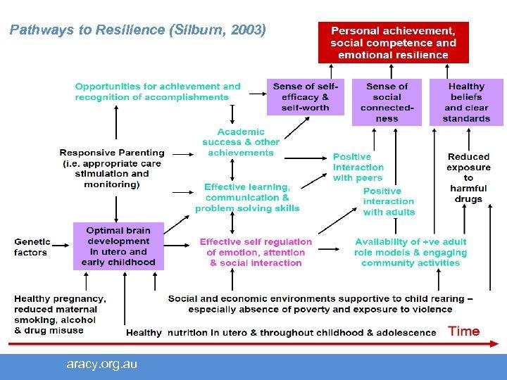 Pathways to Resilience (Silburn, 2003) aracy. org. au