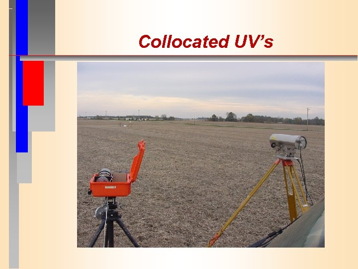 Collocated UV's