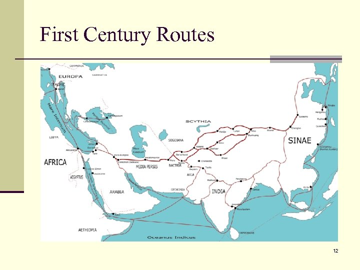 First Century Routes 12