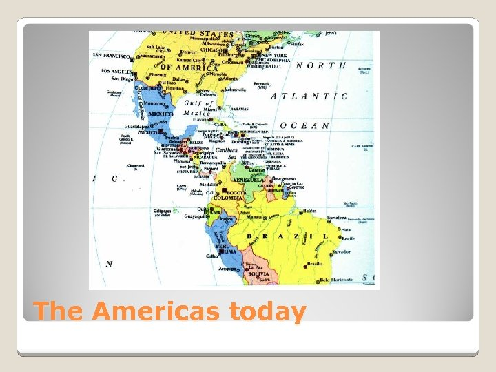 The Americas today