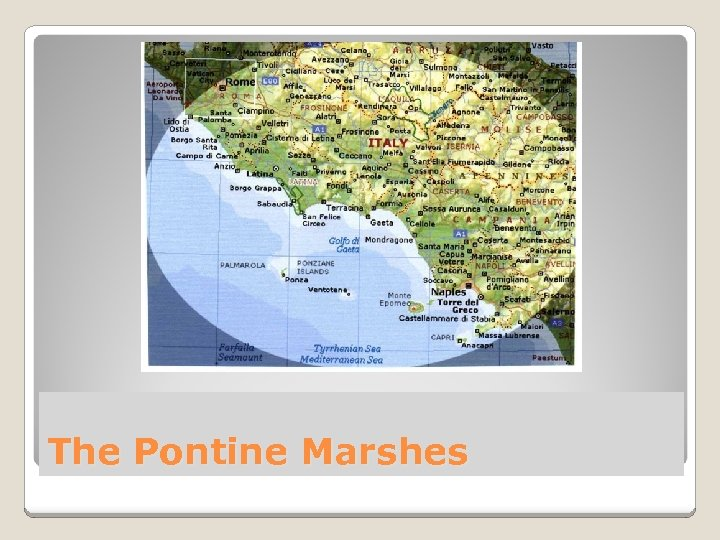 The Pontine Marshes