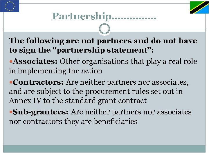 """Partnership…………… The following are not partners and do not have to sign the """"partnership"""
