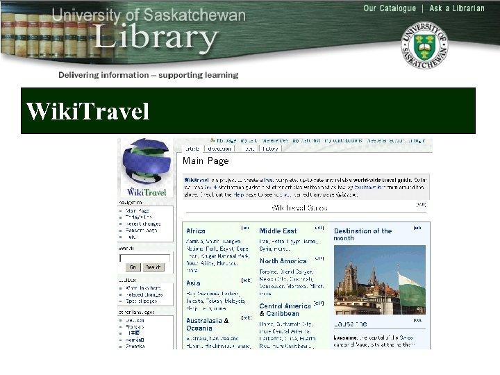 Wiki. Travel