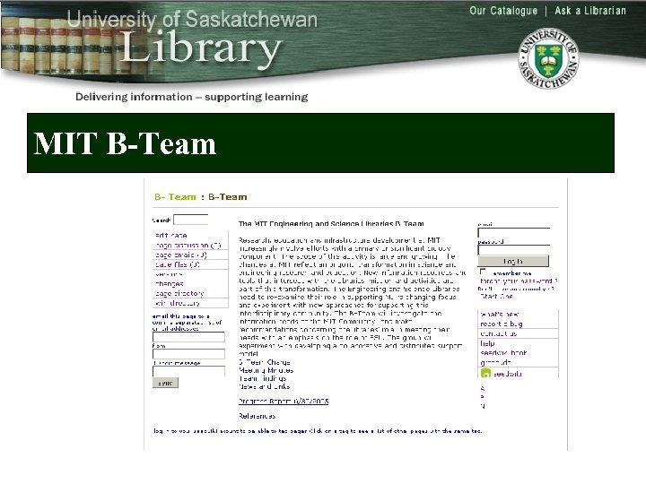 MIT B-Team