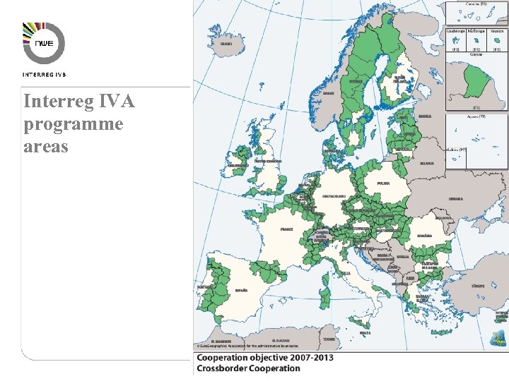 Interreg IVA programme areas