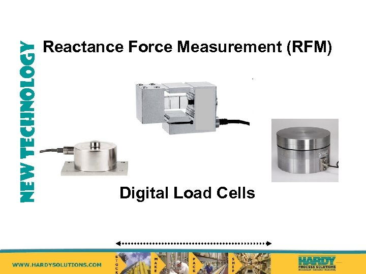 NEW TECHNOLOGY Reactance Force Measurement (RFM) Digital Load Cells