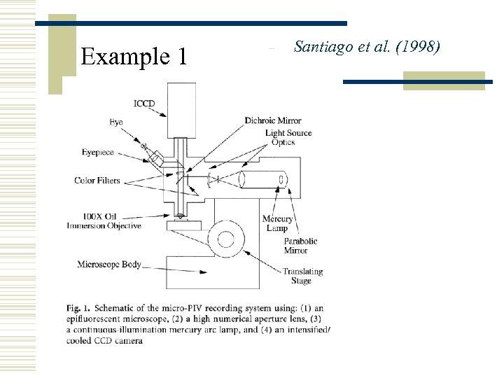 Example 1 – Santiago et al. (1998)
