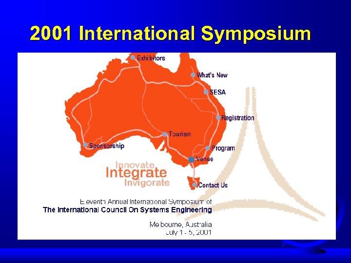 2001 International Symposium