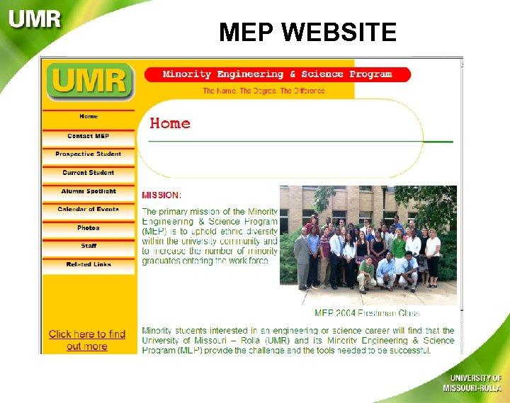 MEP WEBSITE