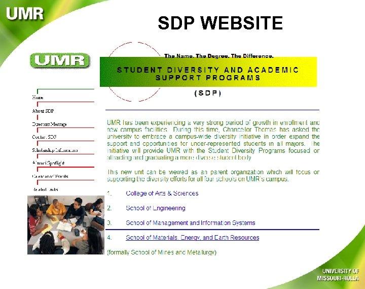 SDP WEBSITE