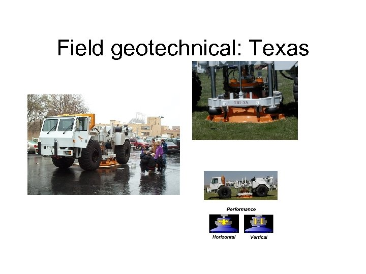 Field geotechnical: Texas