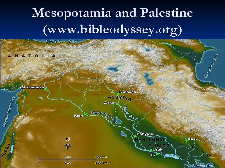 Mesopotamia and Palestine (www. bibleodyssey. org)