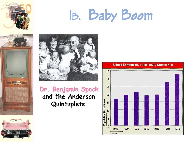 1 B. Baby Boom Dr. Benjamin Spock and the Anderson Quintuplets