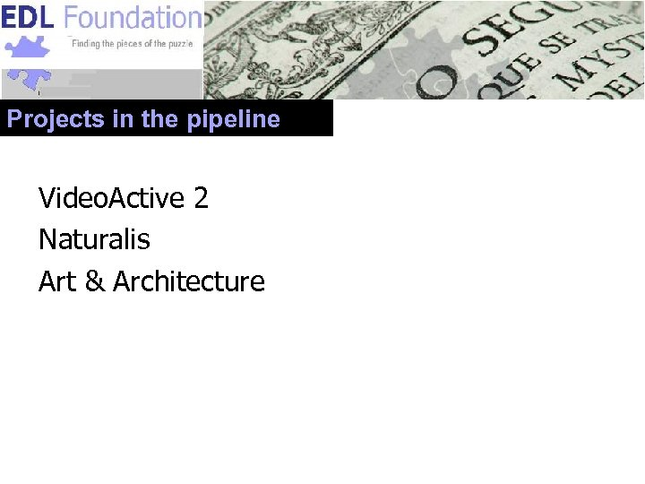 Projects in the pipeline Video. Active 2 Naturalis Art & Architecture