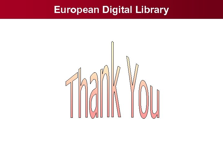 European Digital Library
