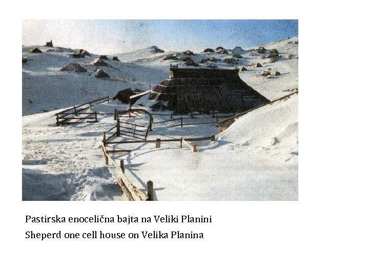 Pastirska enocelična bajta na Veliki Planini Sheperd one cell house on Velika Planina Večina
