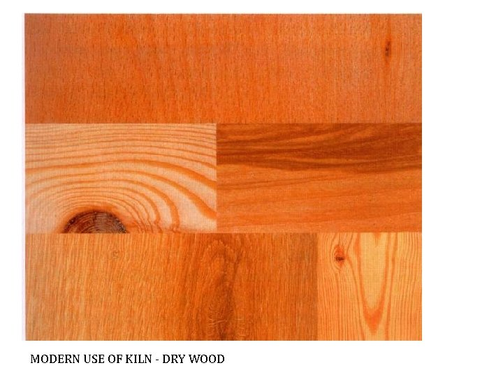 MODERN USE OF KILN - DRY WOOD