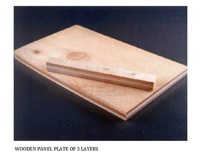 WOODEN PANEL PLATE OF 3 LAYERS