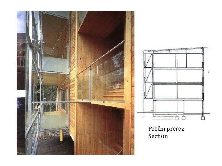 Prečni prerez Section