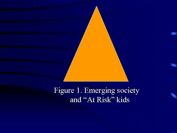 "Figure 1. Emerging society and ""At Risk"" kids"