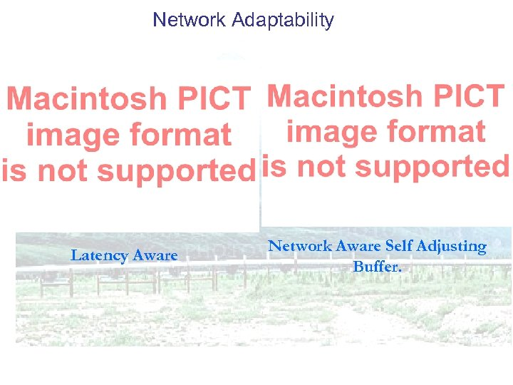 Network Adaptability Latency Aware Network Aware Self Adjusting Buffer.