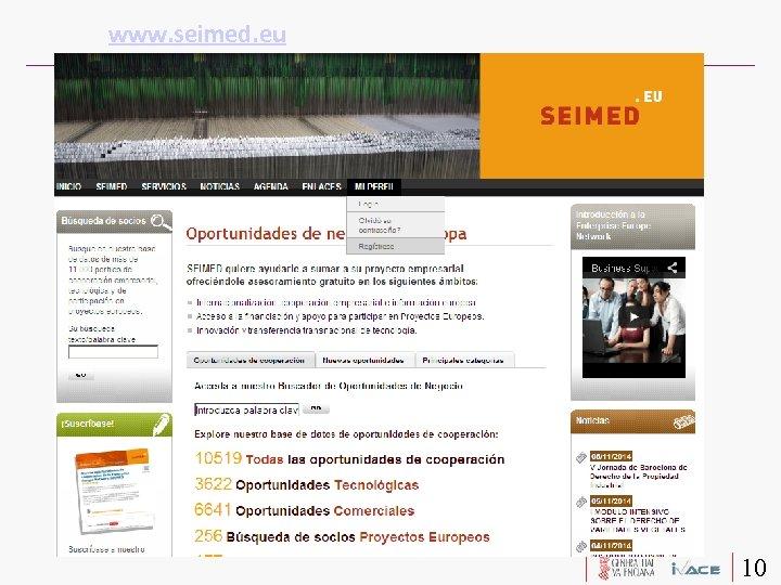 www. seimed. eu 10