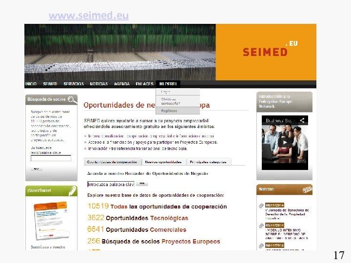www. seimed. eu 17
