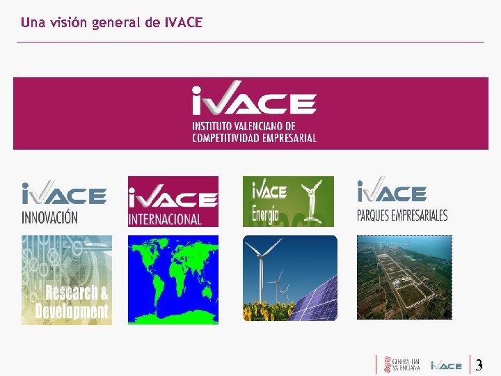 Una visión general de IVACE 3 3