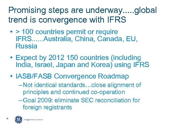 iasb fasb convergence project