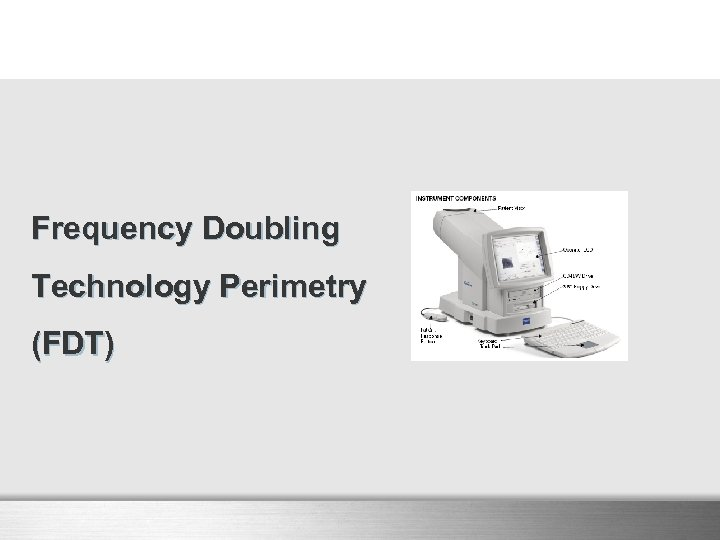 Frequency Doubling Technology Perimetry (FDT)