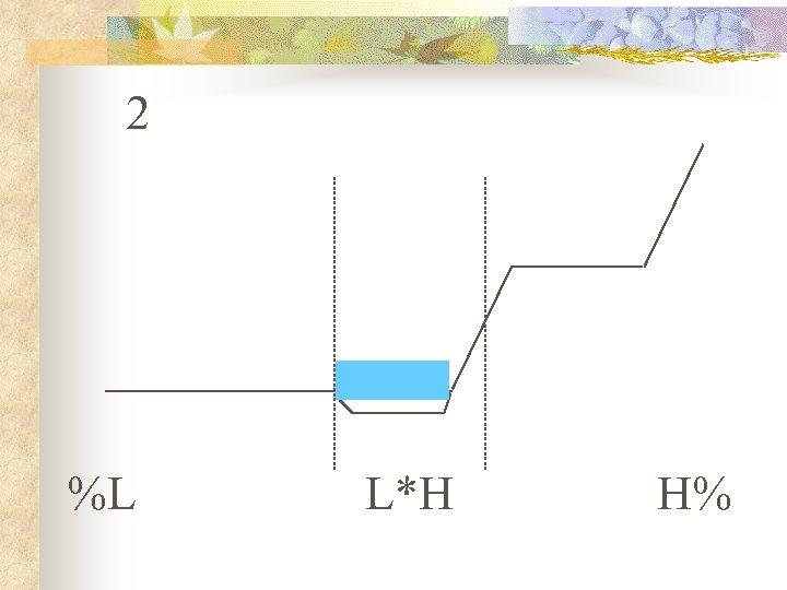 2 %L L*H H%