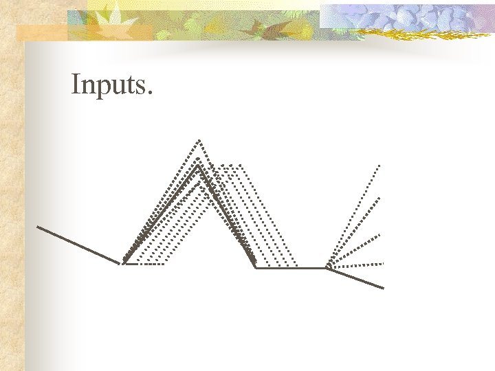 Inputs.