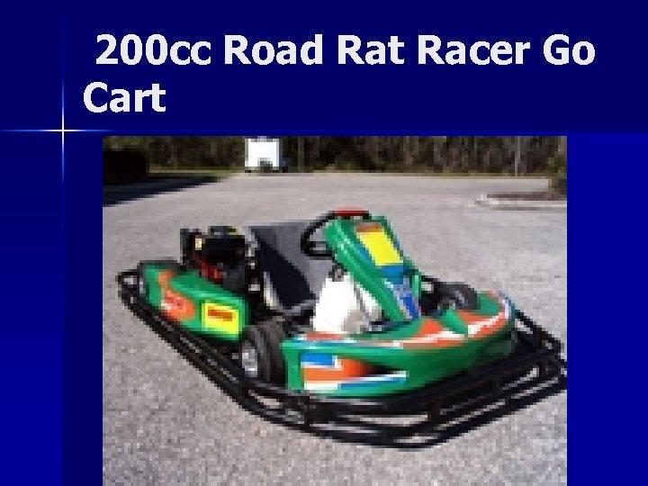 200 cc Road Rat Racer Go Cart