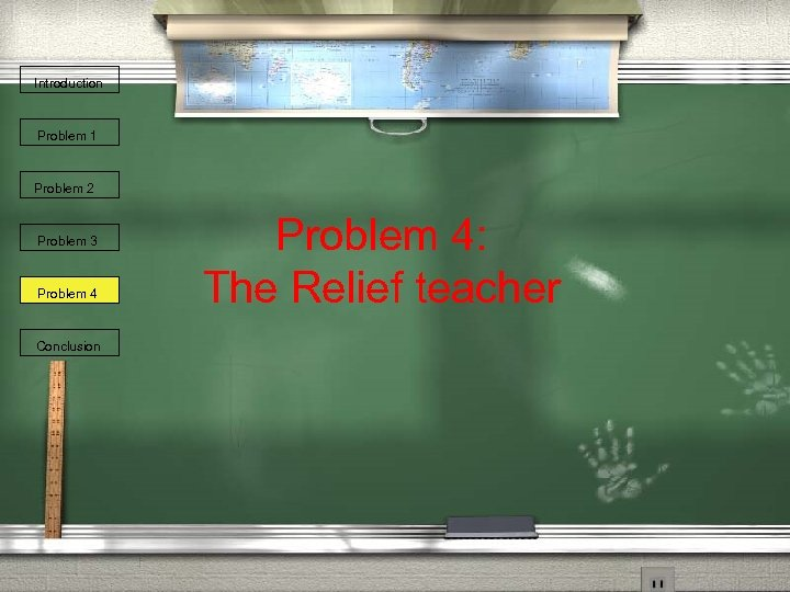 Introduction Problem 1 Problem 2 Problem 3 Problem 4 Conclusion Problem 4: The Relief