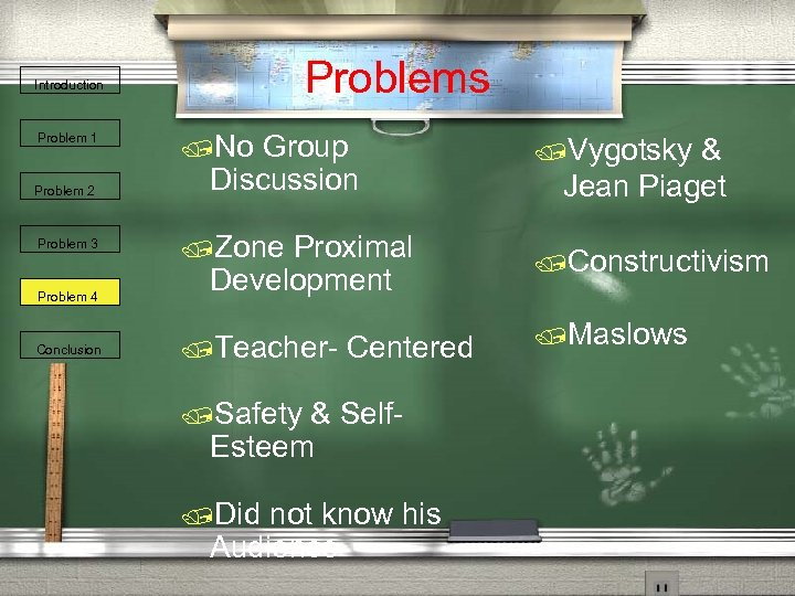 Problems Introduction Problem 1 Problem 2 Problem 3 Problem 4 Conclusion /No Group Discussion