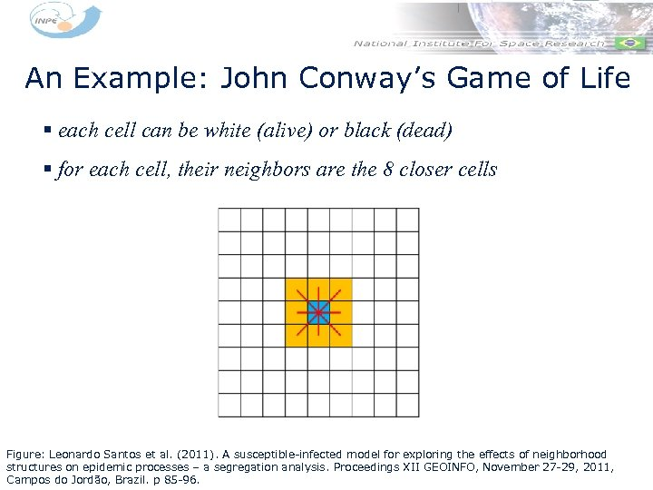 An Example: John Conway's Game of Life § each cell can be white (alive)