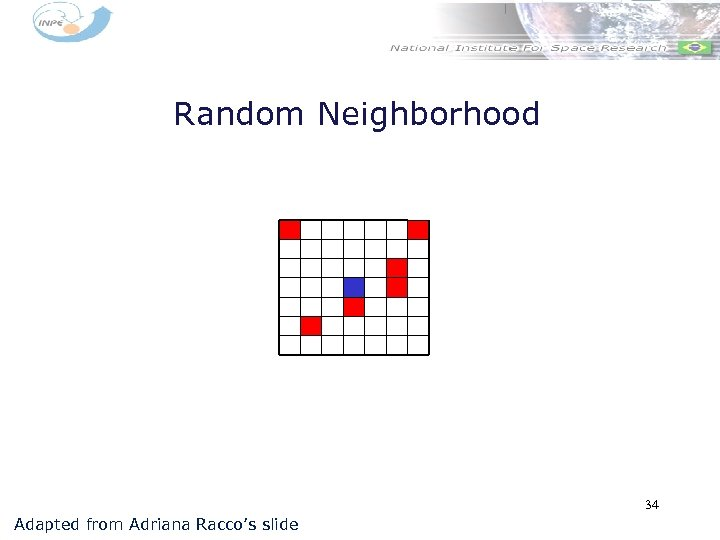 Random Neighborhood 34 Adapted from Adriana Racco's slide