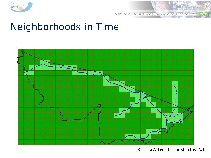 Neighborhoods in Time Source: Adapted from Maretto, 2011